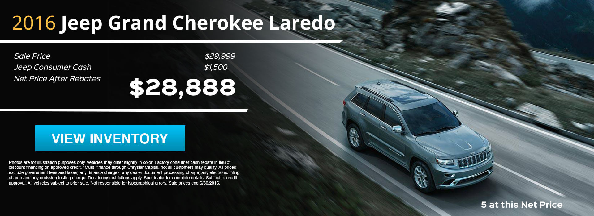 2016 Grand Cherokee HP