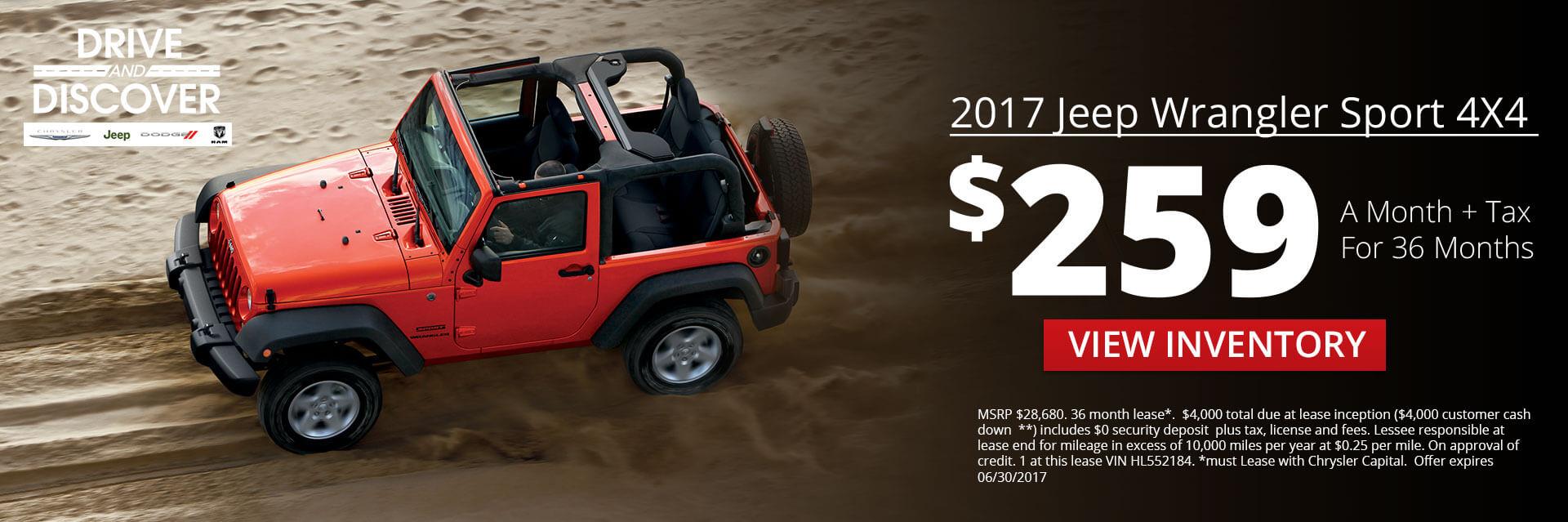 2017 Jeep Wrangler HP