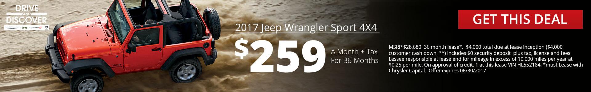 Wrangler SRP