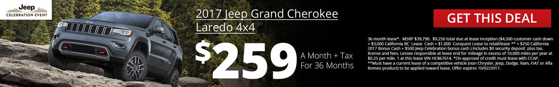 Grand Cherokee SRP