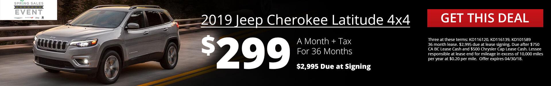 Cherokee SRP