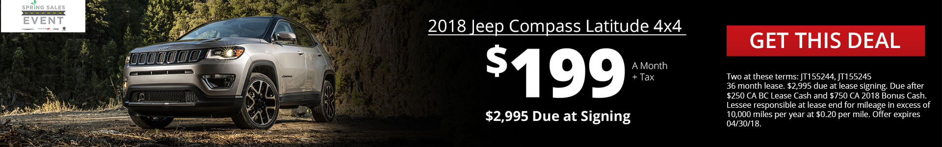 New Jeep Compass SRP
