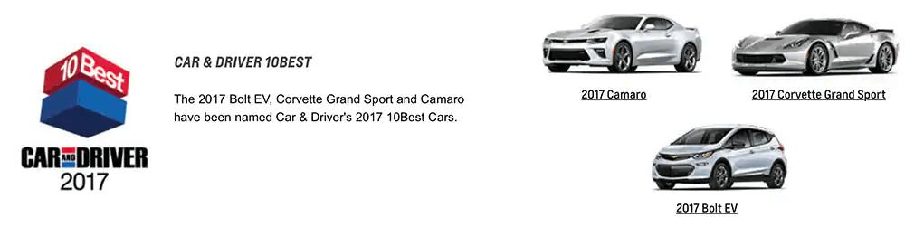 Car & Driver 10Best