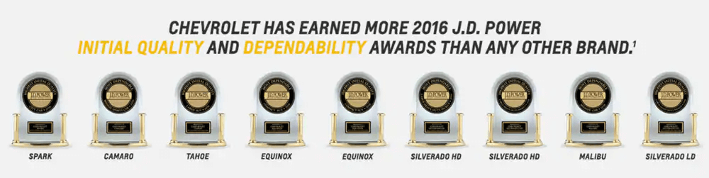 GM Awards - Chevrolet