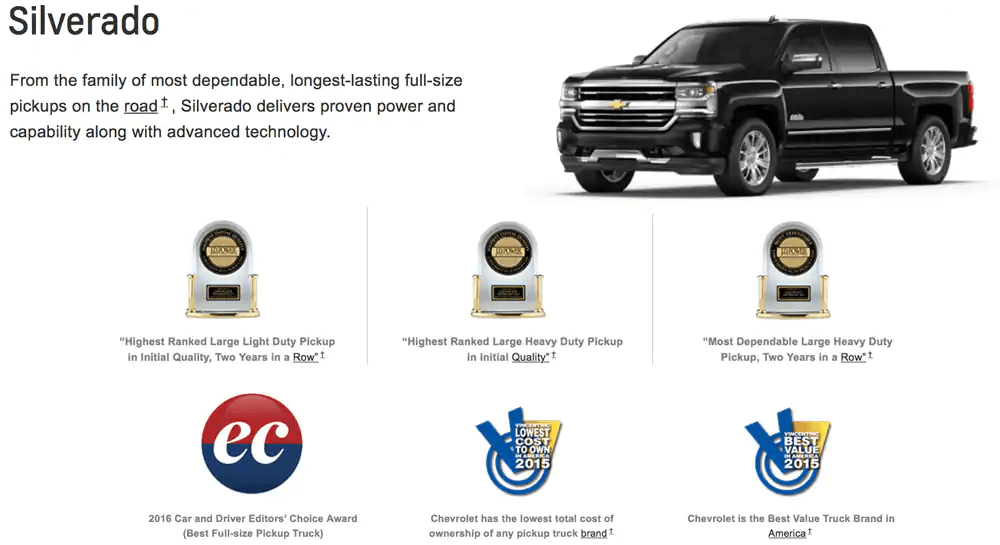 GM Awards Silverado