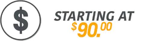 Starting at 90