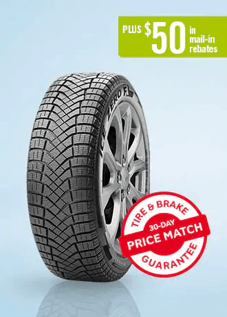 Pirelli Winter Ice Zero FR  P225/65R17 for Chevrolet Equinox and GMC Terrain