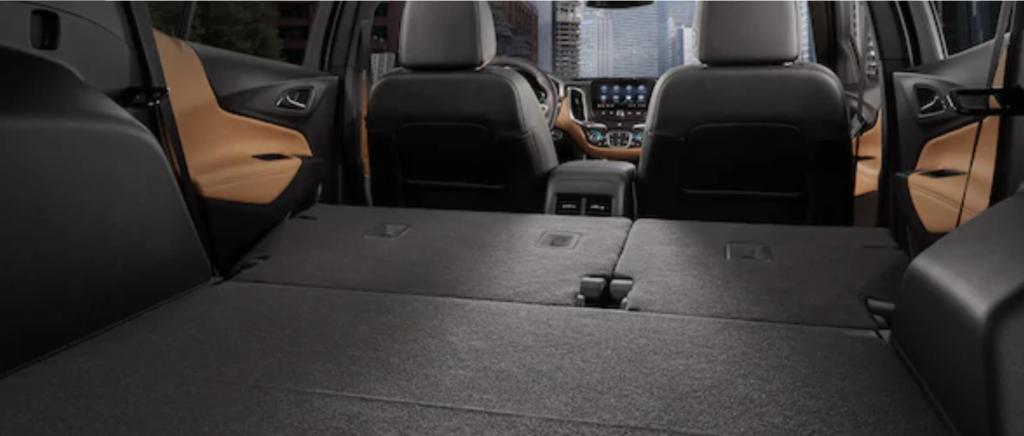 Interior of 2020 Chevrolet Equinox