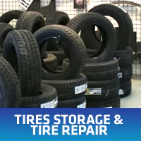 Tires Storage & Tire Repair