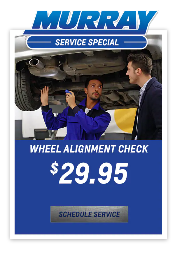 Wheel Alignment Check $29.95