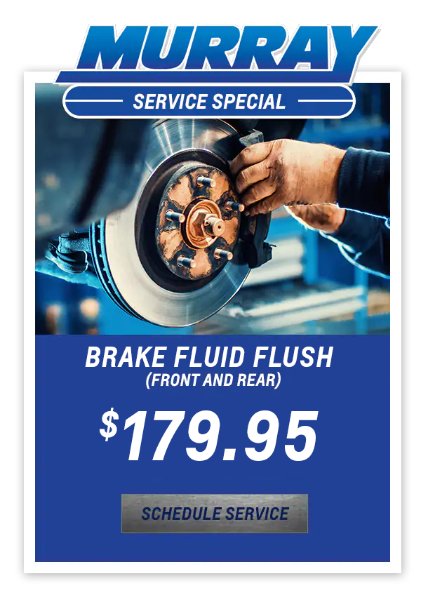 Brake Fluid Flush (Front and Rear) $179.95