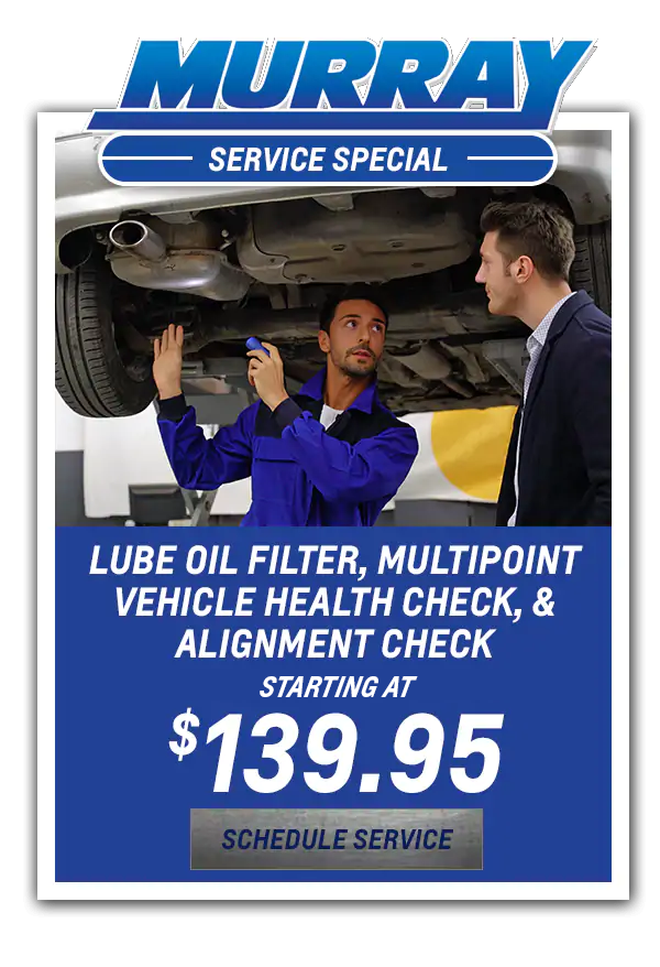Lube Oil filter, Multipoint Vehicle Health Check, & Starting at $139.95