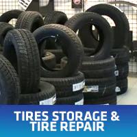Tires Storage & Tire Repair