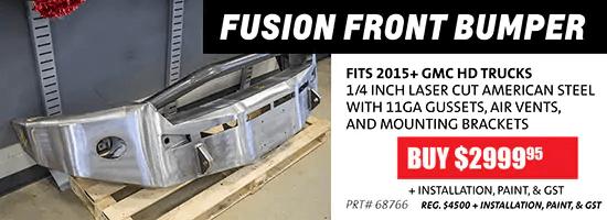Fusion Front Bumper