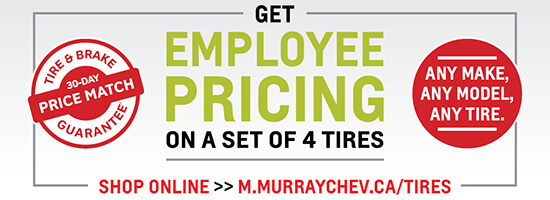 Employee Pricing on Tires!