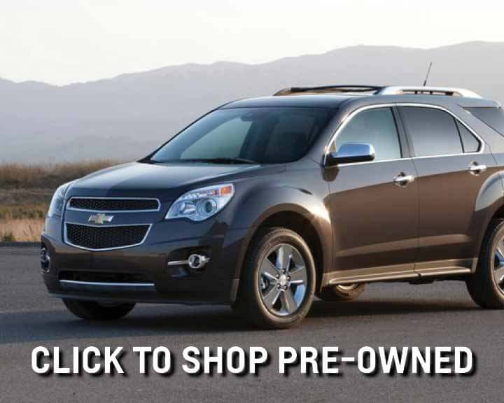 shop pre-owned vehicles