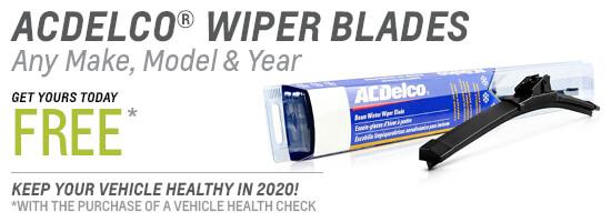 Free ACDelco Wiper Blades