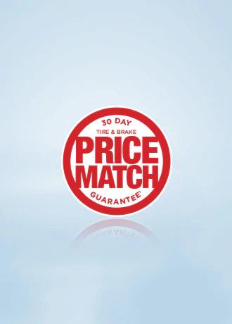 30-Day Brake & Tire Price Match Guarantee