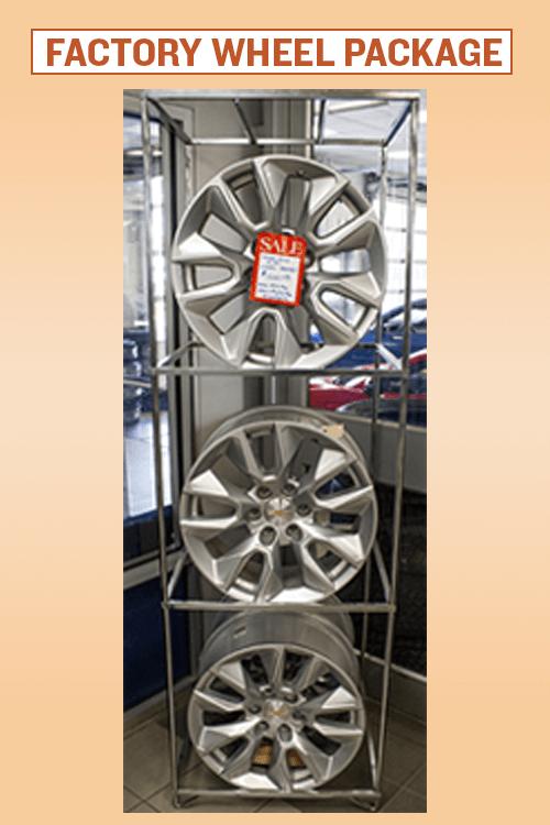 Factory Wheel Package