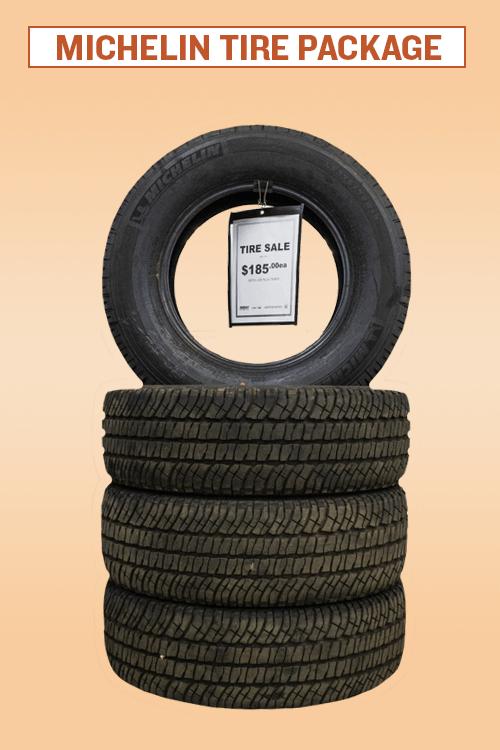 Michelin Tire Package