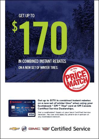 $170 in Combined Instant Rebates
