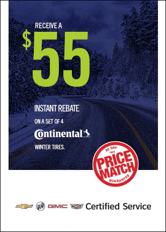 $55 Istant Rebate on Continental Winter Tires