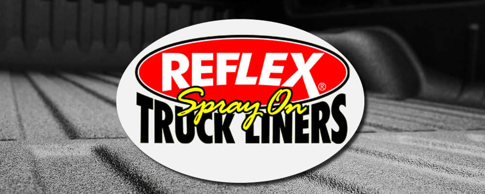 reflex spray on truck liner