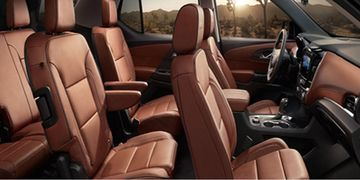 2019 Chevy Traverse Interior Winnipeg