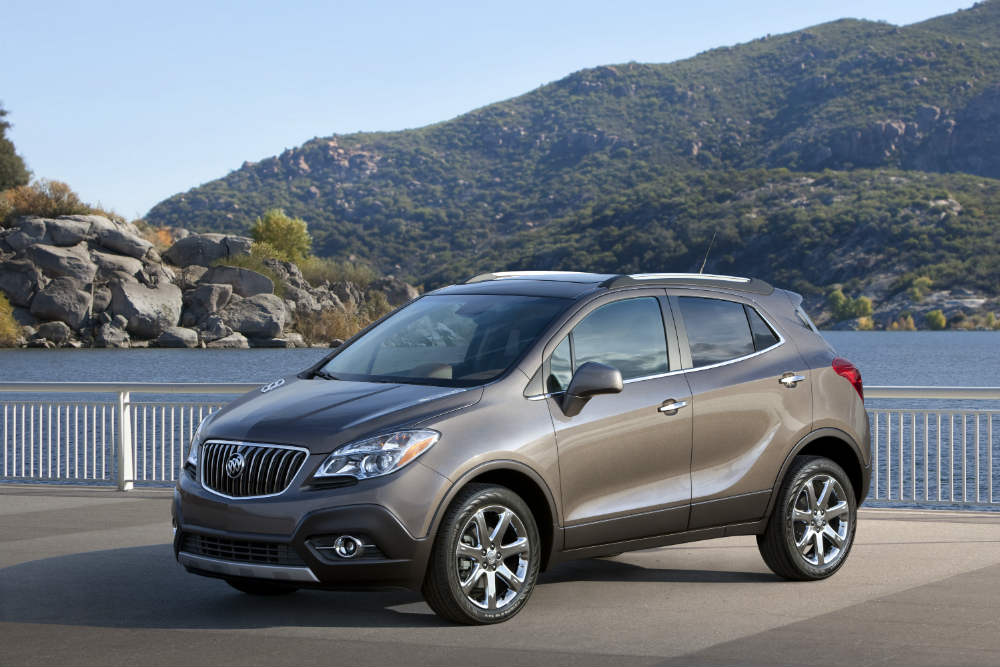 Top dependably CUV 2013 Buick Encore