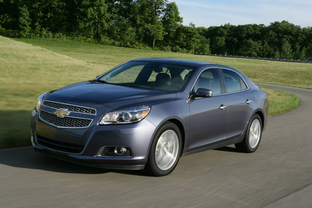 2013 Chevy Malibu rated most dependable midsize car 2016
