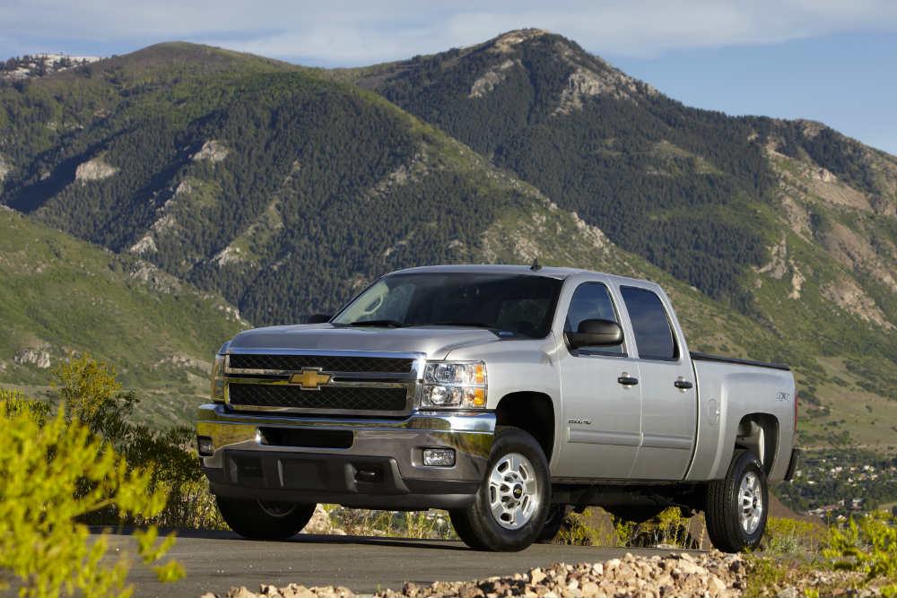 2013 Chevy Silverado HD most dependable heavy duty truck