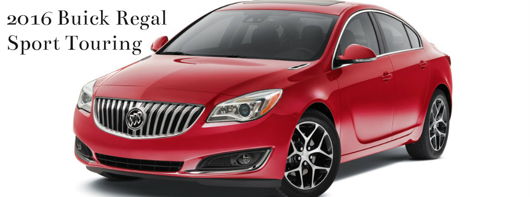 Buick LaCrosse, Regal and Verano to have Sport Touring models for 2016