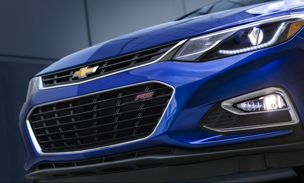 2016 Chevy Cruze front fascia