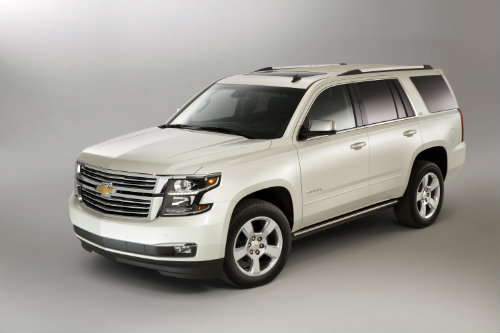 2016 Chevy Tahoe one of the top family SUVs according to Kelley Blue Book