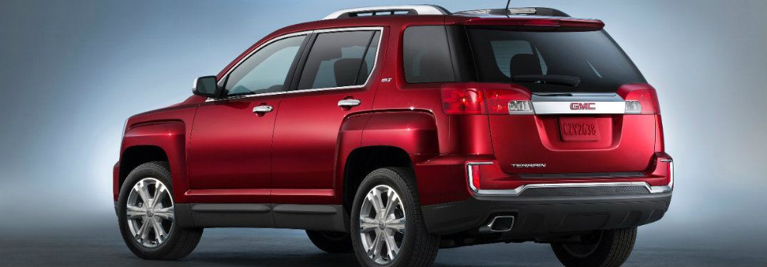 What's new on the 2016 GMC Terrain?