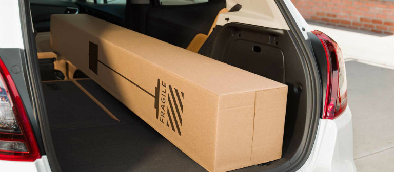 2017 Buick Encore cargo volume