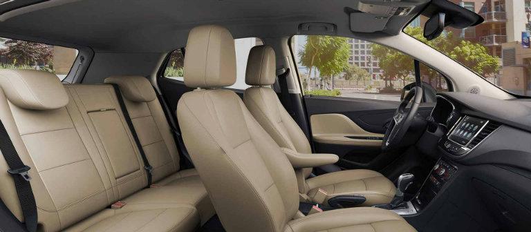 2017 Buick Encore passenger capacity