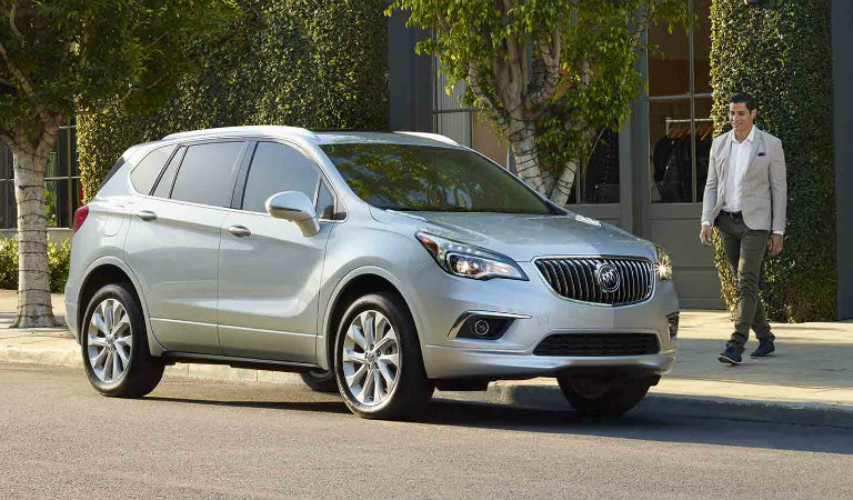 2017 Buick Envision standard features