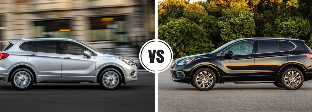 2017 Buick Envision vs 2016 Buick Envision