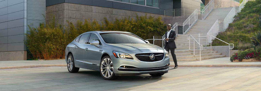 2017 Buick LaCrosse colour options
