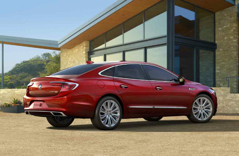 2017 Buick LaCrosse in Crimson Red Tintcoat