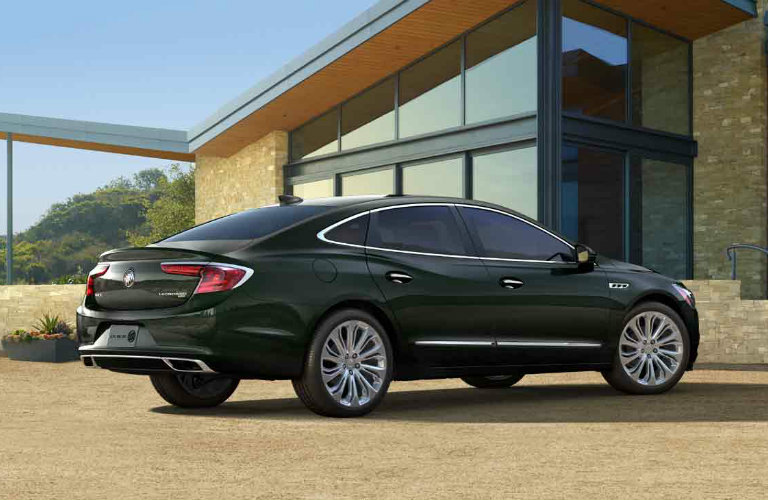 2017 Buick LaCrosse in Dark Forest Green Metallic