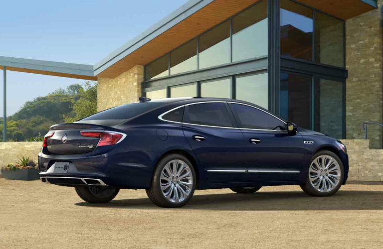 2017 Buick LaCrosse in Dark Sapphire Blue Metallic