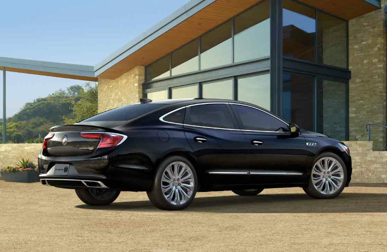 2017 Buick LaCrosse in Ebony Twilight Metallic