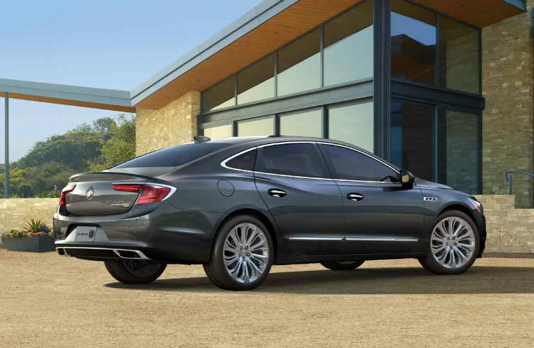 2017 Buick LaCrosse in Graphite Gray Metallic