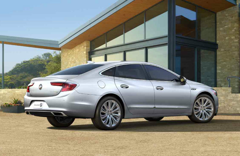 2017 Buick LaCrosse in Quicksilver Metallic