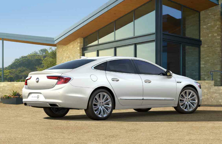 2017 Buick LaCrosse in White Frost Tricoat
