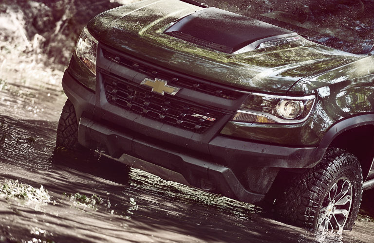 front view of the 2017 Chevy Colorado ZR2