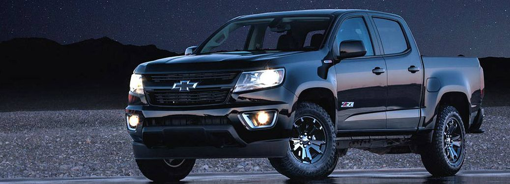 2017 Chevy Colorado Z71 Midnight Canadian pricing informatio