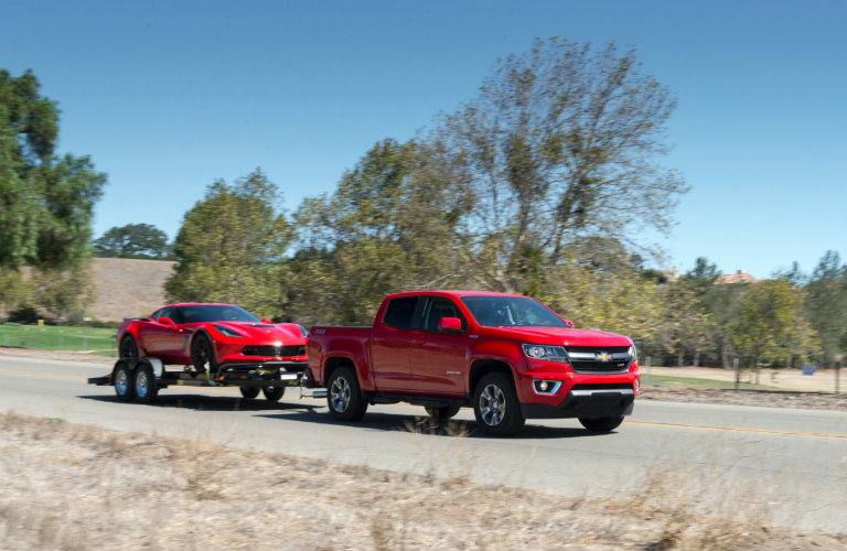 2017 Chevy Colorado engine options